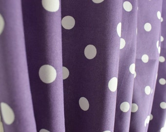 Polka Dot Curtains Bedroom Living Room Handmade Lined Shabby