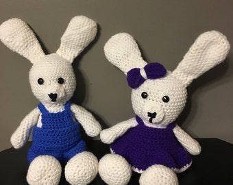 Crochet Easter Bunny Girl or Boy