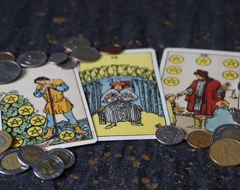 Prosperity and Wealth Tarot Reading - Job or Promotion (PDF via email)