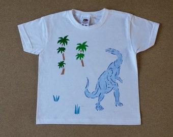 Hand painted children's cotton T-Shirt