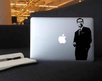 Don Draper - Vinyl Decal for MacBook, iPad, or Laptop