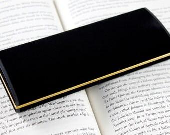 Black Velour Pen Gift Box