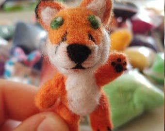 Felted Fox Fursona
