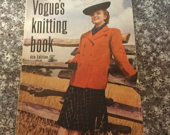 Vogue's Knitting Book, 4th Edition, 1939
