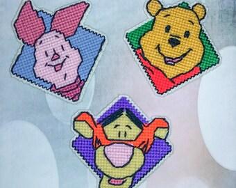 Winnie the Pooh, Tigger & Piglet Plastic Canvas
