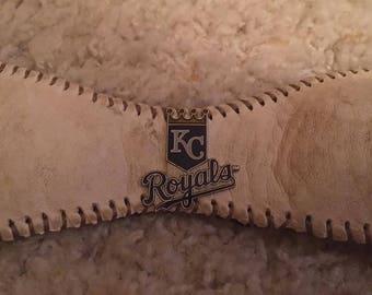 Kansas City Royals baseball cuff bracelet