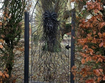 Garden gate, custom made - Druid