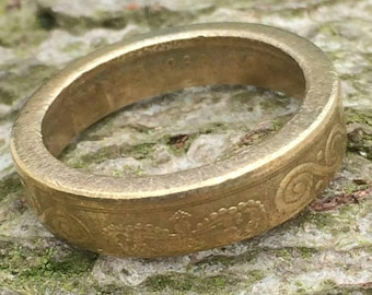 Coin Ring 1998 Danish 10 Kroner