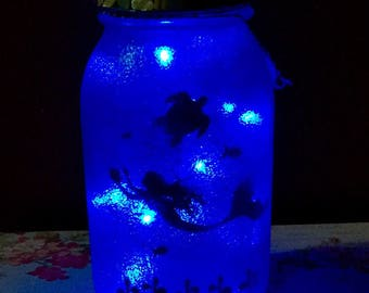 Mermaid LED Jar