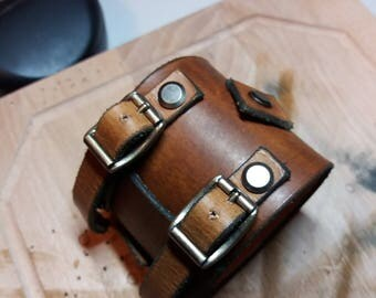 Johnny Depp Style Leather Bracelet