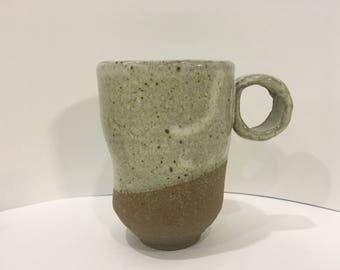 StoneWare Mug circle handle