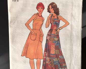 Vintage 1970's Uncut Simplicity 7539 Sewing Pattern