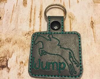 Horse key rings: Western & Dressage