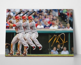 Mike Trout Poster Special Edition 24x36 Poster | Mike Trout Canvas