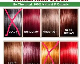 100% Natural Henna Hair Dye