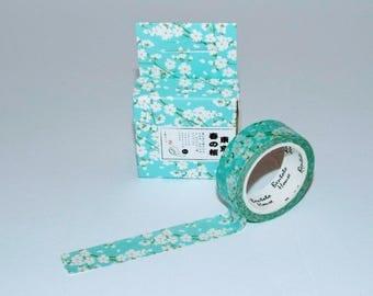 Spring Tokyo Flowers Washi Tape. Beautiful stationery tape.