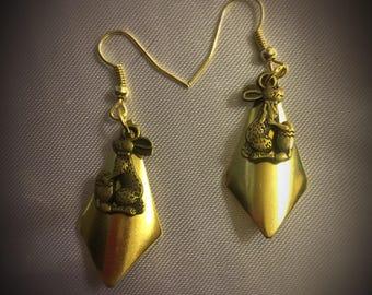 SALE- Bunny Earrings