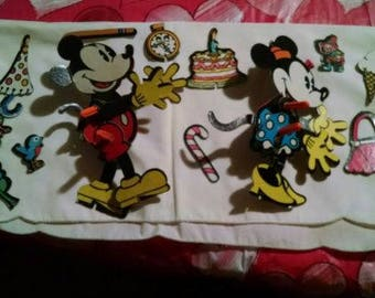 Vintage Disney Mickey Mouse and Minnie Mouse Paper Dolls