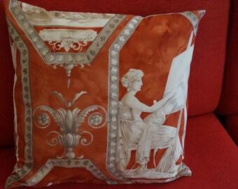 Antique grichiescher pillow case pattern 50 cm x 50 cm