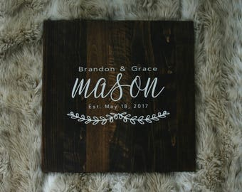 Wedding, Guest Book Alternative, Wooden Guest Board, Custom Wooden Wedding Decor