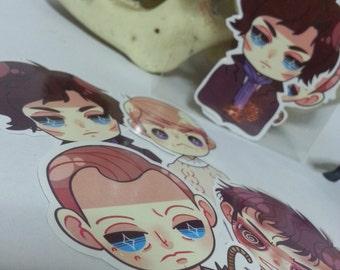 SALE | BCC Sherlock - Sticker Set