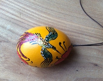 Easter egg. Painted egg. Easter decoration.