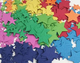 Rainbow Confetti, Rainbow Party, Rainbow Star Confetti, Party Confetti, Rainbow Birthday, Wedding Confetti, Table Confetti, Table Scatter