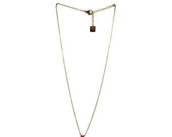 Necklace chain golden star pendant