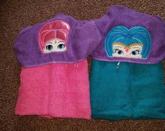 Genies hooded towels