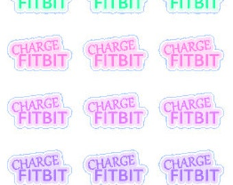 Charge Fitbit // Stickers // Filofax // Erin Condren // Planner