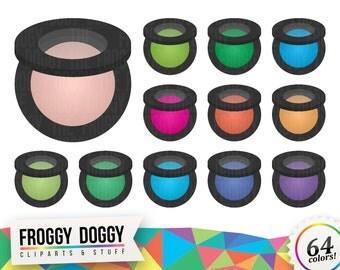 Rouge Clipart, Cosmetics Clipart, Makeup Clipart, Beauty Clipart, Blush Clipart, Planner Clipart, Scrapbooking Cliparts