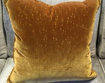 Colony Italian silk velvet cushion