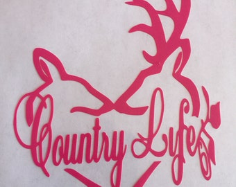 Country Life Vinyl Decal