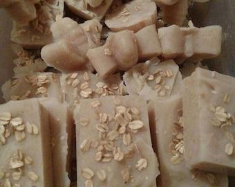 Oatmeal goats milk soap with Tea Tree Oil