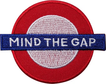 London Underground Tube Embroidered Iron / Sew On Patch Clothes Souvenir Badge