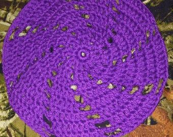 Sweet spiral dish cloth