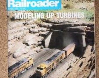 Model Railroader Magazine April 1981