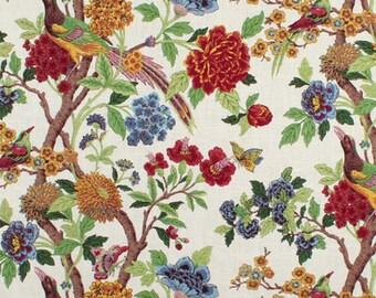 Richloom Floral Fabric- curtains, throw pillows, roman shades