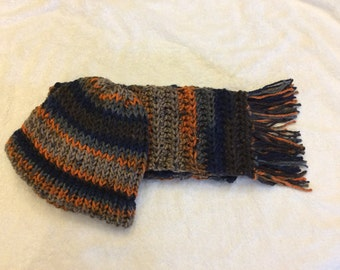Handmade hat &a scarf set