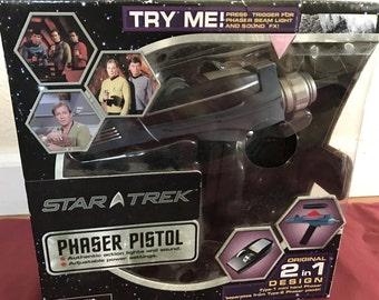 2 in 1 Original Star Trek Pistol Phaser