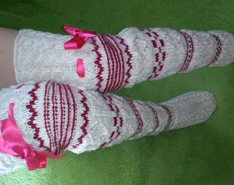 Long women's socks