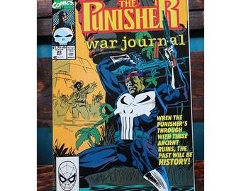 The Punisher War Journal 23 1988