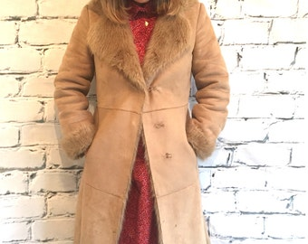 Vintage Faux Fur 70's Coat