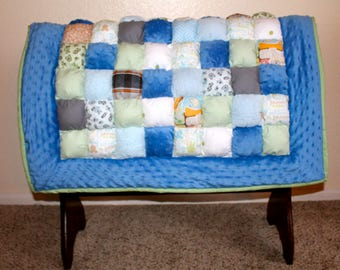 Custom Baby Puff Quilt