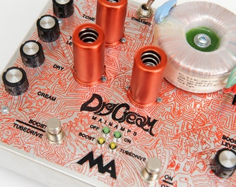 Dry-CREAM by MAINAMPS. High Voltage Tube Guitar Effect (booster & overdrive)