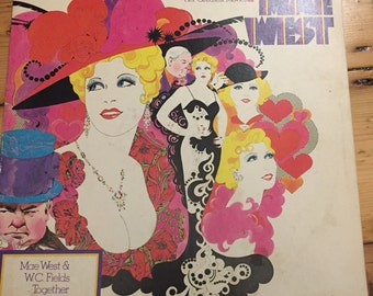 The Original Voice Tracks From Her Greatest Movies - Mae West - Vinyl (W C Fields)