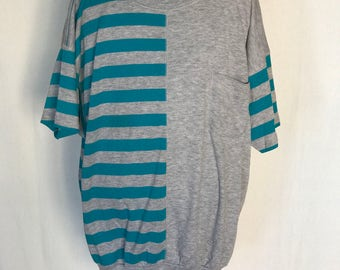 80's Funky Striped Shirt
