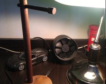 Luxury Black Walnut Wooden Headphone Stand/Rack