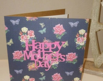 Happy Mothers Day plaque card