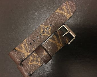 Custom Louis Vuitton Apple Watch Band